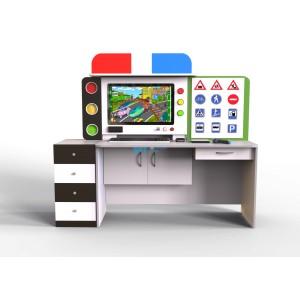 Мультимедийный интерактивный развивающий комплекс «ПДД»