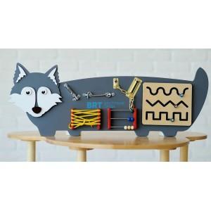 Бизиборд Волчок