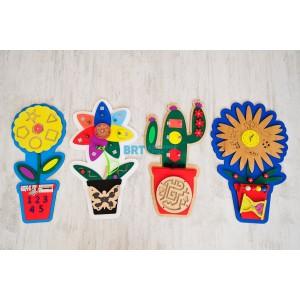 Набор бизибордов «Мой сад»