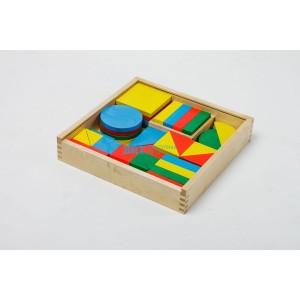 Игровой комплект психолога №2 «Базовые геометрические фигуры и их...