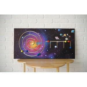 Панель-лабиринт «Космос»