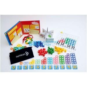 Первые шаги с Numicon. Комплект для домашних занятий (3-5 лет)