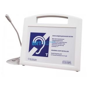 Портативная индукционная система Исток А2 со встроенным плеером