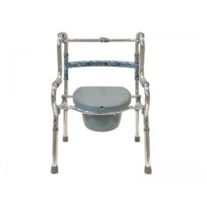 Кресло-туалет ходунки BR-2021 (2 в 1)
