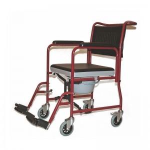 Кресло-каталка с санитарным оснащением BR-800-690
