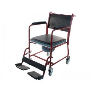 Кресло-каталка с санитарным оснащением BR-800-154