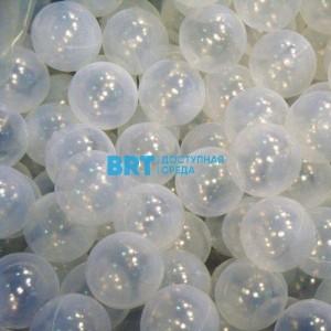 Прозрачные шарики для сухого бассейна