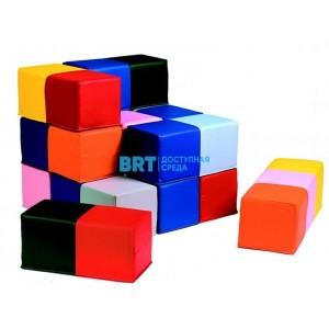 """Модульный набор """"Разноцветные кубики"""""""
