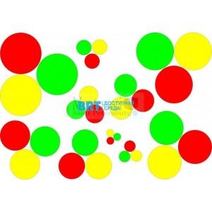 Проекции для цветных цилиндров