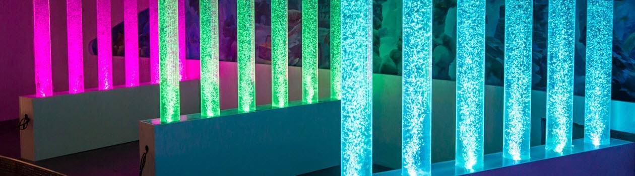 Воздушно-пузырьковые колонны  и панели