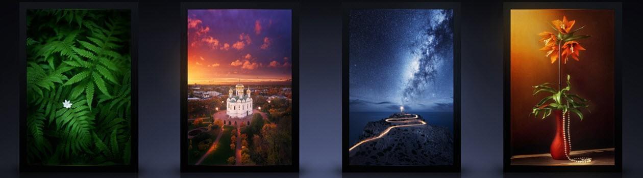 Световые панели и картины