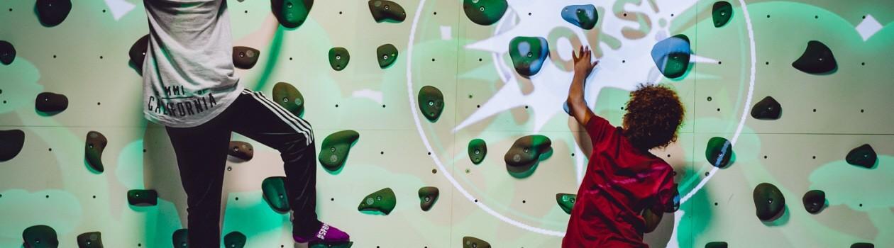 Интерактивный скалодром